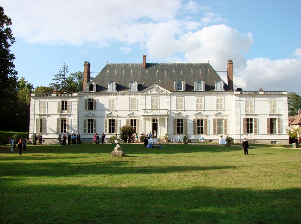 vue du chateau de Barthelemy